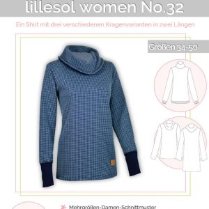9f5d638890d403 Shirt mit Kuschelkragen women No. 32 (lillesol&pelle)