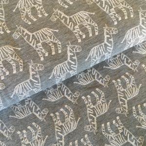 zebragrau