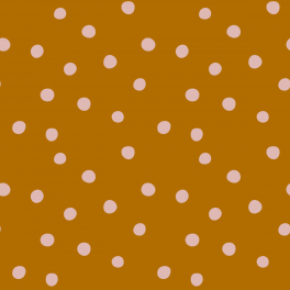 tela-jersey-a-metro-ochre-and-pink-dots