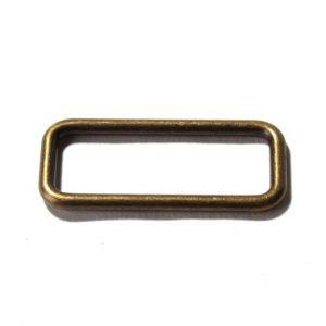 Vierkant-Ring-40mm-messing